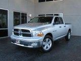 2009 Bright Silver Metallic Dodge Ram 1500 SLT Quad Cab #7692059