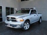 2009 Bright Silver Metallic Dodge Ram 1500 SLT Quad Cab #7692061
