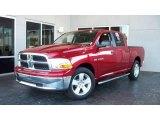 2009 Inferno Red Crystal Pearl Dodge Ram 1500 Laramie Crew Cab #7692036