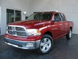 2009 Inferno Red Crystal Pearl Dodge Ram 1500 Big Horn Edition Crew Cab #7692041