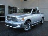 2009 Bright Silver Metallic Dodge Ram 1500 Big Horn Edition Crew Cab #7692050