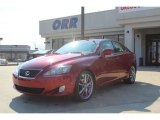 2008 Matador Red Mica Lexus IS 250 #77270629