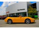 2008 Speed Yellow Porsche 911 Carrera S Cabriolet #7704211
