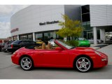 2008 Guards Red Porsche 911 Carrera S Cabriolet #7704210
