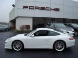 2008 Carrara White Porsche 911 Carrera S Coupe #7689604
