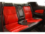 2000 Chevrolet Monte Carlo Limited Edition Pace Car SS Rear Seat