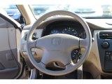 2002 Honda Accord LX Sedan Steering Wheel