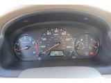 2002 Honda Accord LX Sedan Gauges