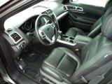2011 Ford Explorer XLT Charcoal Black Interior
