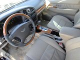 2002 Infiniti QX4 Interiors