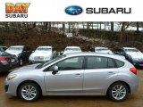 2012 Ice Silver Metallic Subaru Impreza 2.0i Premium 5 Door #77270364