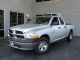 2009 Bright Silver Metallic Dodge Ram 1500 ST Quad Cab #7692115