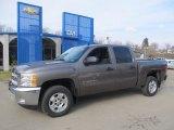 2013 Mocha Steel Metallic Chevrolet Silverado 1500 LT Crew Cab #77270359