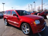 2010 Jeep Grand Cherokee Inferno Red Crystal Pearl