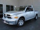 2009 Bright Silver Metallic Dodge Ram 1500 SLT Crew Cab #7692133
