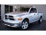 2009 Bright Silver Metallic Dodge Ram 1500 SLT Quad Cab #7692026