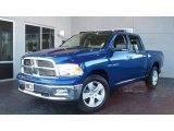 2009 Deep Water Blue Pearl Dodge Ram 1500 Big Horn Edition Crew Cab #7692046