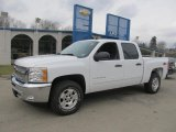 2013 Summit White Chevrolet Silverado 1500 LT Crew Cab 4x4 #77270354