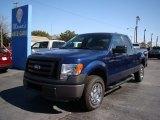 2011 Dark Blue Pearl Metallic Ford F150 XL SuperCab 4x4 #77270606