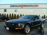 2006 Black Ford Mustang V6 Premium Coupe #77270944