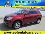 2010 Cardinal Red Metallic Chevrolet Equinox LT AWD #77270934