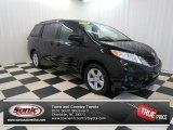 2011 Black Toyota Sienna LE #77270711