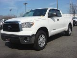2012 Toyota Tundra Double Cab 4x4 Front 3/4 View