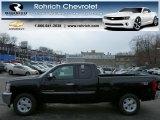 2013 Black Chevrolet Silverado 1500 LT Extended Cab 4x4 #77270924