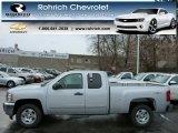 2013 Silver Ice Metallic Chevrolet Silverado 1500 LT Extended Cab 4x4 #77270922