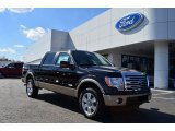 2013 Kodiak Brown Metallic Ford F150 Lariat SuperCrew 4x4 #77270441