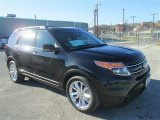 2011 Tuxedo Black Metallic Ford Explorer Limited #77270322