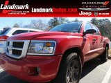 2010 Flame Red Dodge Dakota Big Horn Crew Cab #77270440