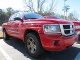 2010 Dodge Dakota Big Horn Crew Cab Front 3/4 View