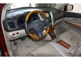 2008 Lexus RX 400h AWD Hybrid Ivory Interior