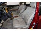 2008 Lexus RX 400h AWD Hybrid Front Seat