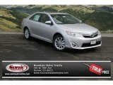 2013 Classic Silver Metallic Toyota Camry XLE V6 #77270073