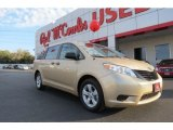2011 Sandy Beach Metallic Toyota Sienna  #77270314