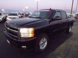 2009 Black Chevrolet Silverado 1500 LTZ Crew Cab 4x4 #77270682
