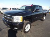 2009 Black Chevrolet Silverado 1500 LTZ Crew Cab 4x4 #77270681