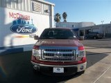 2013 Ruby Red Metallic Ford F150 XLT SuperCrew #77270296
