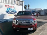 2013 Ruby Red Metallic Ford F150 Platinum SuperCrew 4x4 #77270295