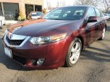2010 Basque Red Pearl Acura TSX Sedan #77270891