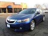 2010 Vortex Blue Pearl Acura TSX Sedan #77270889