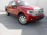 2013 Ruby Red Metallic Ford F150 Platinum SuperCrew 4x4 #77270532