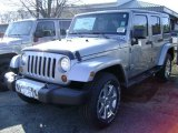 2013 Billet Silver Metallic Jeep Wrangler Unlimited Sahara 4x4 #77332025