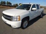 2009 Summit White Chevrolet Silverado 1500 LT Z71 Crew Cab 4x4 #77332238