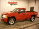 2012 Victory Red Chevrolet Silverado 1500 LS Regular Cab 4x4 #77332351