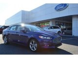 2013 Deep Impact Blue Metallic Ford Fusion SE 1.6 EcoBoost #77332145