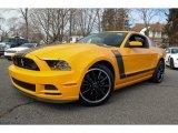 2013 School Bus Yellow Ford Mustang Boss 302 #77332288