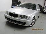2000 Titanium Silver Metallic BMW 3 Series 328i Coupe #77332332